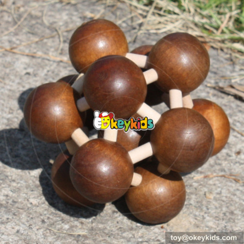 wholesale hottest sale wooden educational intelligence toy for baby W11C019