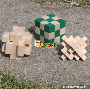 wholesale best quality wooden irregular figures intelligence game for W11C021