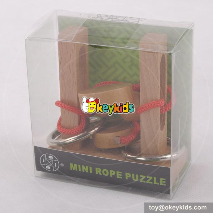 children rope puzzle toy