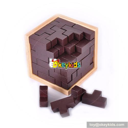 Wholesale hottest sale wooden children craft magic box W11C029