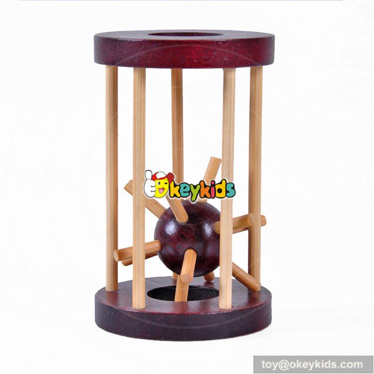 wooden unlocked toy