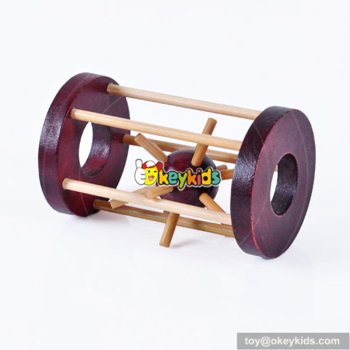 Wholesale hot sale intellectual development wooden unlocked toy for children W11C030