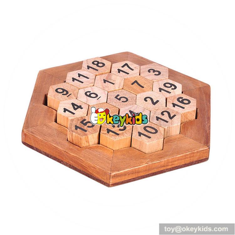 wooden magic puzzles