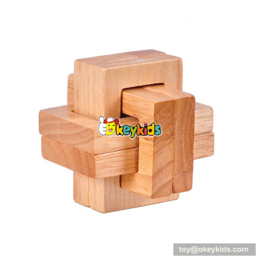 Wholesale hottest wooden mini blocks as children Brain development W11C040