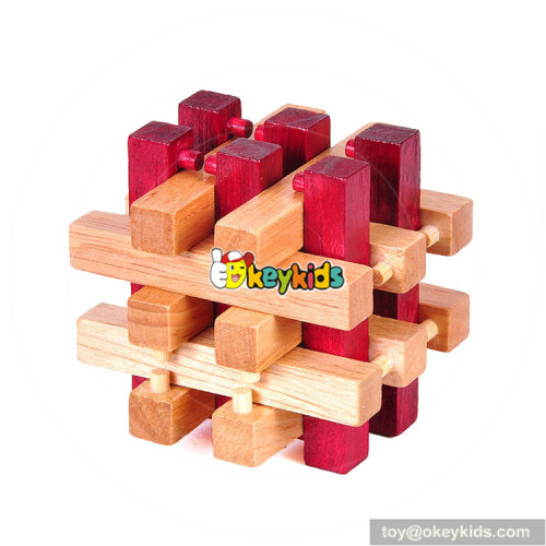 Wholesale most popular education game wooden puzzle master for sale W11C042