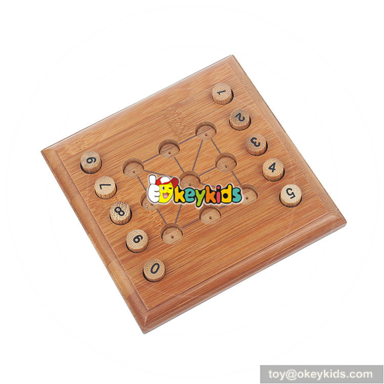 wooden sudoku-15 toy