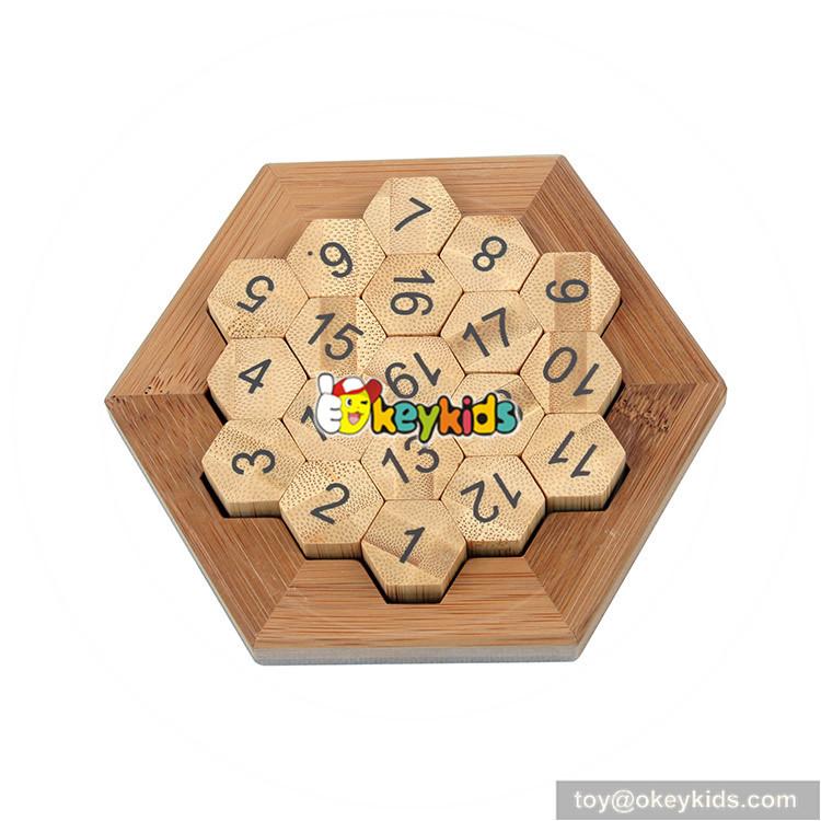 wooden math sudoku