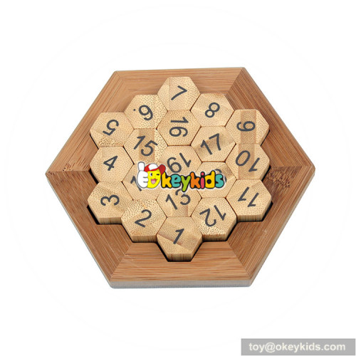 Wholesale intelligent game wooden math sudoku puzzles for children W11C045