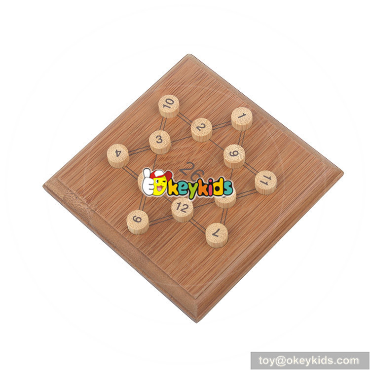 wooden sudoku toy