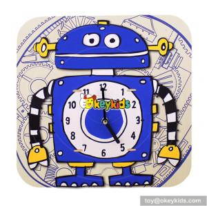 Wholesale custom baby wooden funny alarm clocks for sale W14K007