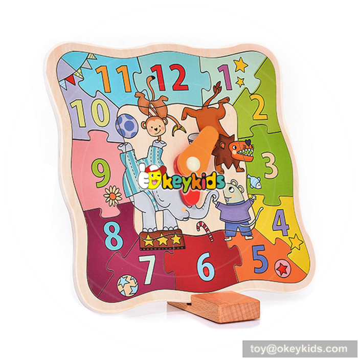 clock shaped toy