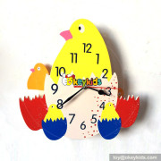 customize cartoon style wooden wall room clock W14K032