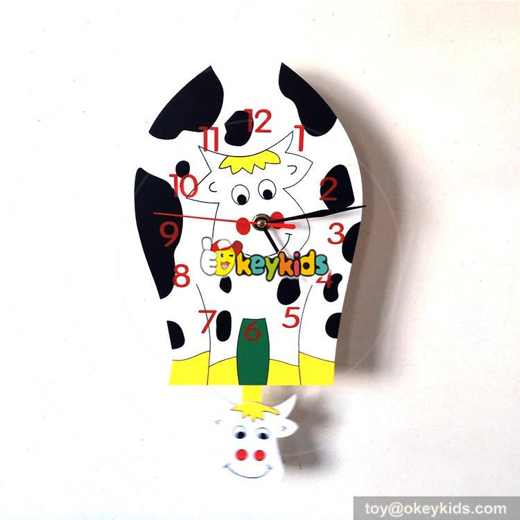 cows wall clock