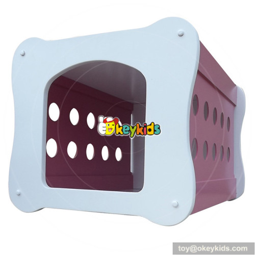 most popular kids wooden dog bed for sale as gift W06F002B