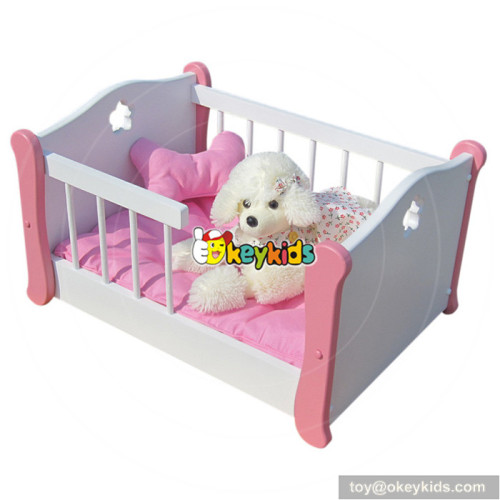 top fashion lovely wooden dog bunk for sale W06F006B