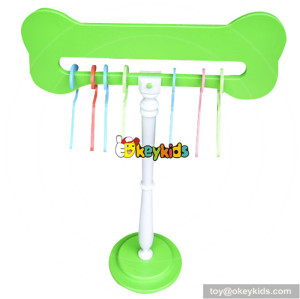 high quality baby wooden clothes hanger for sale W06F009C