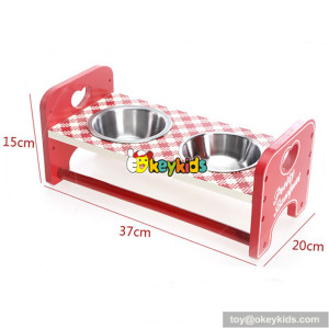 new fashion children wooden pet feeder for sale as gift W06F016