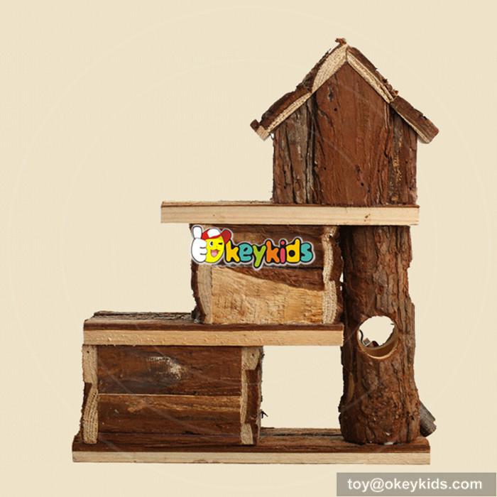 wooden hamster homes