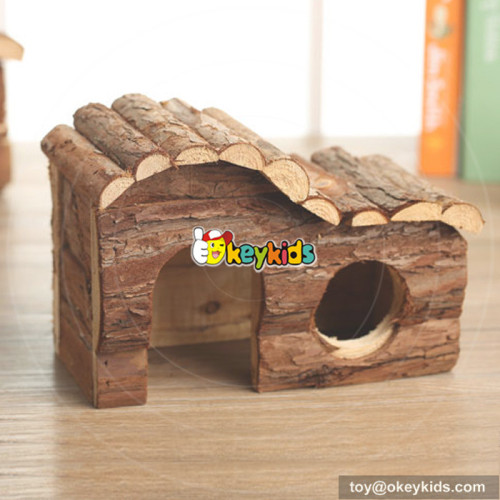 new fashion natural wooden big hamster cages for sale W06F022