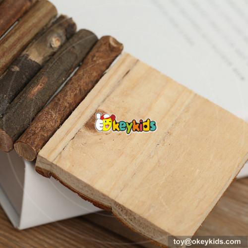 New design lovely mini wooden pet sliding board for sale W06F023