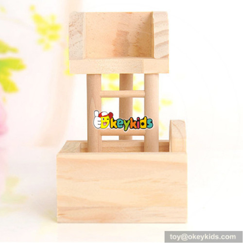 indoor funny small animals creeping toy wooden pet ladder W06F027