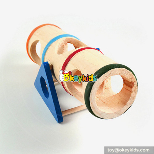 cheap small animal wooden hamster seesaw toy W06F028