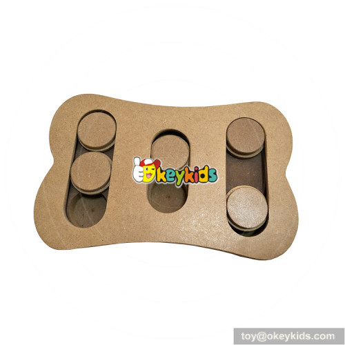 pets IQ training feeder wooden interactive cat toys W06F033