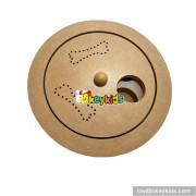 Best sale pet interactive wooden dog treat puzzles W06F041