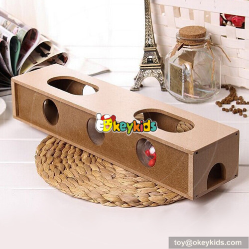 high quality small animal playground wooden interactive pet toys W06F044