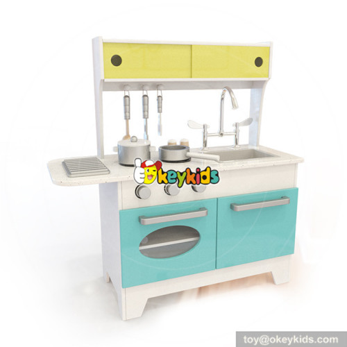Wholesale top quality wooden cooking kitchen toy benefits to baby's EQ training W10C334
