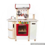 Wholesale new fashion wooden pretend toy cooking set toy for preschool W10C345