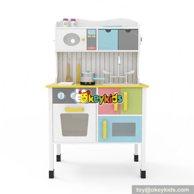 Okeykids Original Design Preschool wooden kitchen set toy for toddlers EQ training W10C355