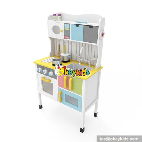 Okeykids Original Design Preschool wooden kitchen set toy for toddlers EQ training W10C355