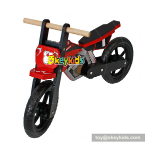 Okeykids Newest design safety 2 wheels wooden balance bike for children W16C152