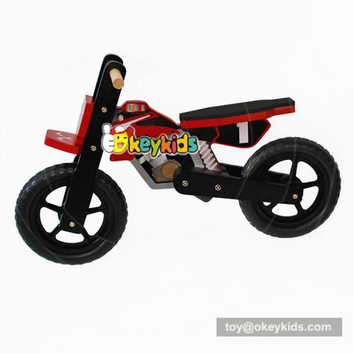 Okeykids Newest design safety 2 wheels wooden balance bike for children W16C152