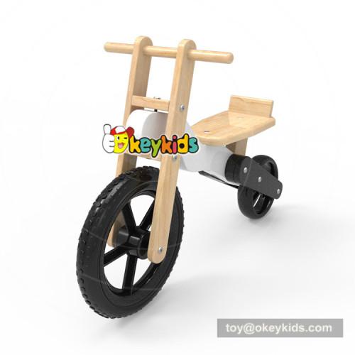 Okeykids Newest design wooden pedal less bike for kids balance learning W16C190