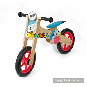 Okeykids Newest design cartoon wooden kids cycle for balance training W16C193