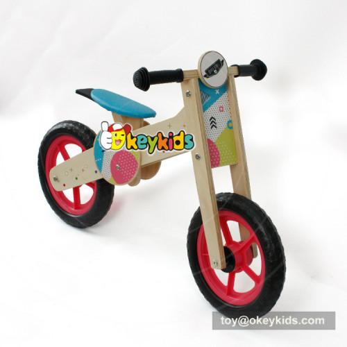 Okeykids Newest design cartoon wooden kids cycle for balance training W16C193