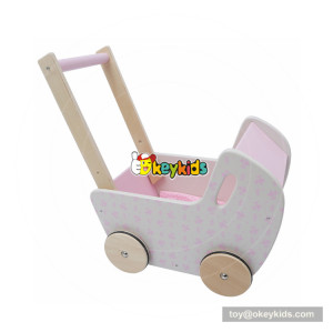 okeykids cheap pink wooden baby push toys for walking W16E082