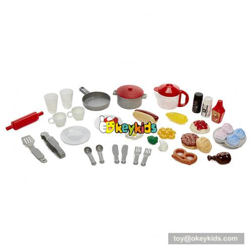 Okeykids  America style wooden large toy kitchen for children W10C361