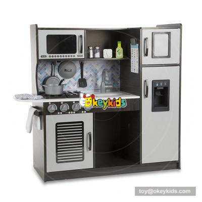 Okeykids  wooden kitchen set toy for toddlers EQ training W10C364