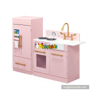 Okeykids hottest miniature large wooden toy kitchen sets for girls W10C370