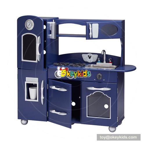 Okeykids new fashion children wooden kitchen toy set with customize W10C371
