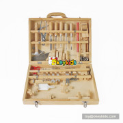 Okeykids high value wooden repair tool kit toy benefits to kids' hand skill training W03D046