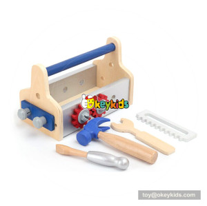 Okeykids early learning teaching children wooden tools set toy W03D090