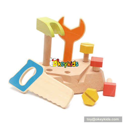 New educational toys wooden kids tool set with customize W03D088
