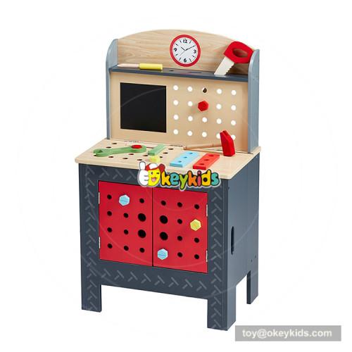 2018 Hot sales diy assemble wooden tools beach toys preschool educational toys  W03D094