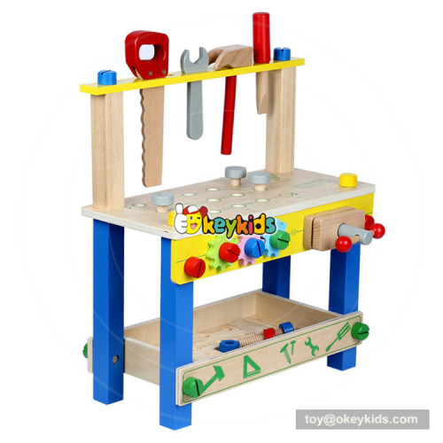 2018 simply design tool platform toys wooden tool toys for kids W03D096