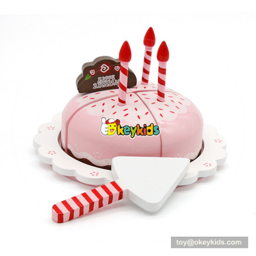 wholesale kids wooden cake toy for role play W10B136