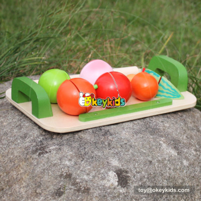 baby wooden fruit cut toy W10B177